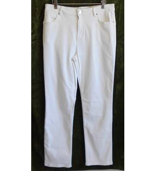 Marks & Spencer Soft White Jeans Size 12