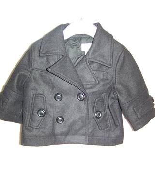 Monsoon - Size: 3-6 months - Black - Jacket