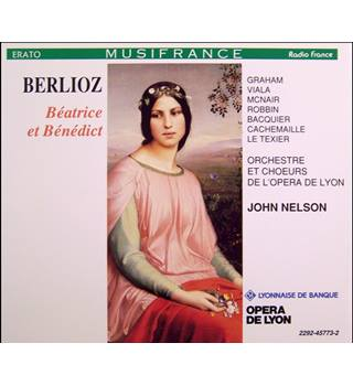 Beatrice et Benedict - Berlioz (legendary Frenchman's last work ; melody, wit & sparkling invention 2 CDs)