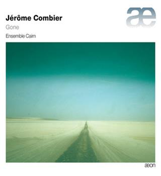 JÉRÔME COMBIER: GONE new and sealed classical cd