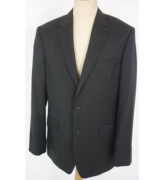 "M & S  Size: M, 40"" chest, regular fit Neutral BlackCasual/Stylish Pure New Wool Single Breasted Jacket"