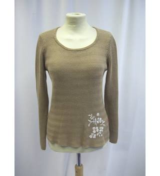 Jackpot - Size: S - Brown - Sweater