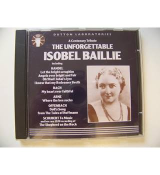 The Unforgettable Isobel Baillie