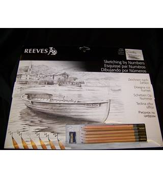 Reeves™ Sketching by Numbers - PPSK7 Vita Bella