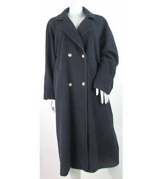VINTAGE Miss Smith - Size: 16 - Navy Blue - Wool/Cashmere Mix - Smart jacket / coat