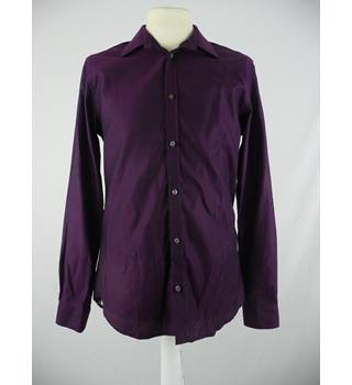 Kenneth Coce - Size: M - Purple - Long Sleeved Shirt