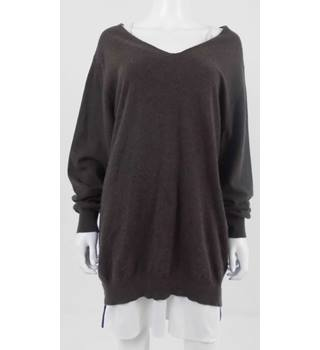 Hawico Size M Brown Cashmere Jumper
