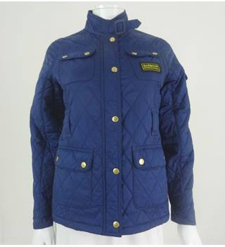 Barbour XL 12/13 Blue Quilted Jacket