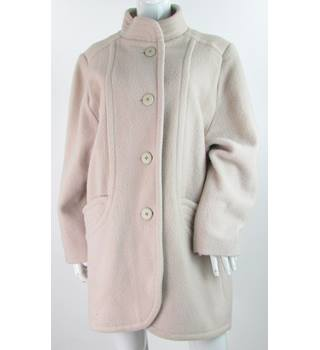 Miss Smith - Size: 14 - Dusty Pink - 100% Wool - Coat