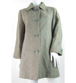 Unbranded - Size: 14 - Grey - Pure New Wool - Coat