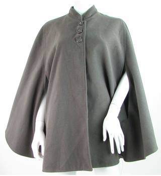 Just Elegance - Size: M/L - Grey - 100% Polyester - Cape