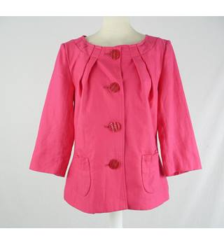 Per Una - Size: 12 - Pink - Smart jacket / coat