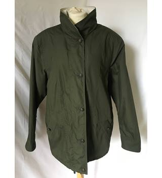 Women's khaki green Jacket. St Michael - Size: 10 - Green - Jacket