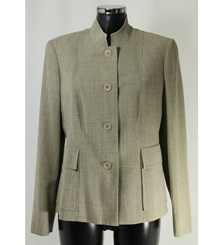 BNWOT M&S Jacket - Dark Beige - Size 14 M&S Marks & Spencer - Size: 14 - Beige