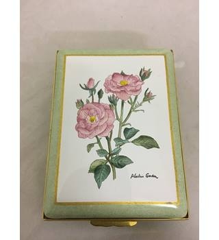 The Halcyon Days Rose Enamel Box Limited Edition