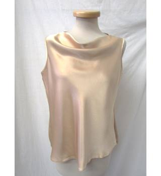 First Avenue - Size: 14 - Soft Gold - Sleeveless Top