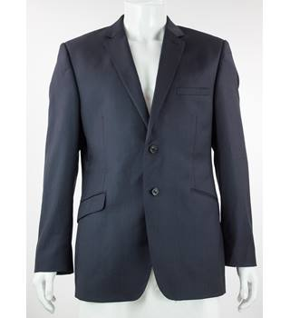 "Paul Costelloe - Size: 42"" - Blue- Wool- Single breasted blazer"