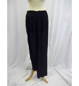"Anmol - Size: 36"" - Black - Trousers"