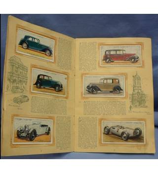 !930s An Album of Motor Cars. John Player. Complete
