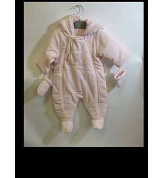 Unbranded - Baby's Outerwear with Mittens - size 6 months Unbranded - Size: 6 months - Pink