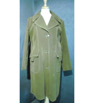 Vintage - Size: 18 - Tan - Overcoat