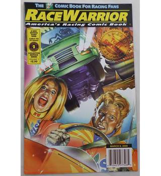 Race Warrior, America's Racing Comic Book, Volume 1, Issue Number 2, March 8, 2000