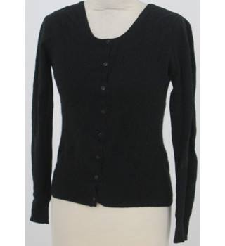 Collections at George, size 12 black cashmere cardigan