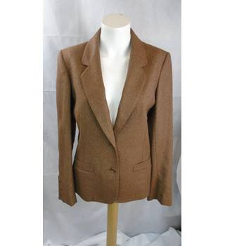 BROWN CACHE D'OR JACKET, SIZE 14 Cache D'or - Size: 14 - Brown - Jacket