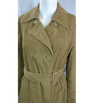 WONDERFUL CORDUROY TRENCH COAT FROM GAP, SIZE M Gap - Size: M - Brown - Casual jacket / coat