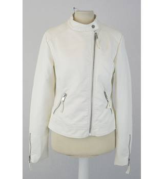 BNWT Marks & Spencer - Size: 14 - Cream - Fitted Jacket
