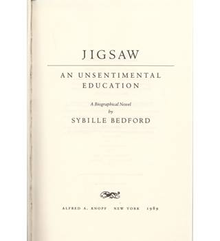 Jigsaw : an unsentimental education   1st US edition