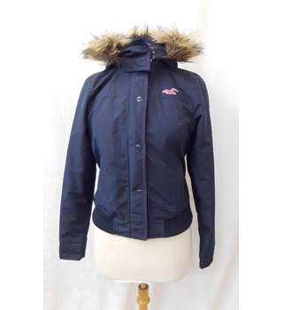 Hollister - Size: S - Navy Blue - Casual coat