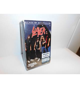 Decade of Aggression(LIVE)- SLAYER (CASSETTE)