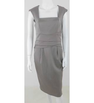 BNWT Reiss Size 10 Mocha Knee Length Dress