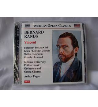 Vincent - Bernard Rands (2011 opera CD) NEW in shrink wrap Arthur Fagen