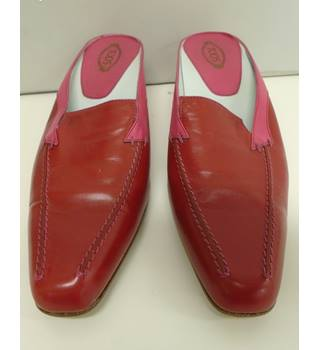 TODS - Red - Heeled shoes- size -40