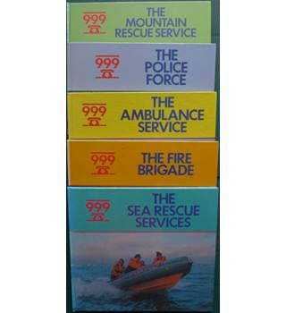 999 (Emergency Services) set of 5 Books