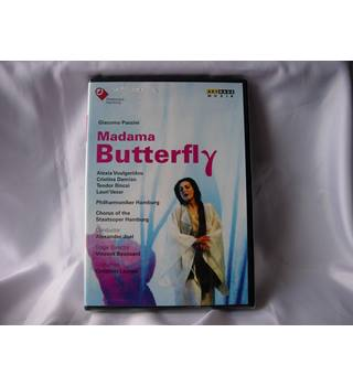 Giacomo Puccini - Madama Butterfly (2014 DVD) NEW in shrink wrap