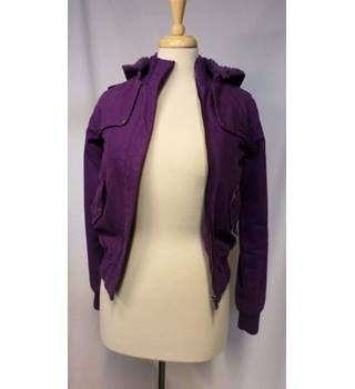 Fenchurch - Size: 4 - Purple Casual Jacket