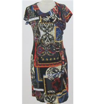 BNWT Wow Company size: M multi-coloured pattern dress