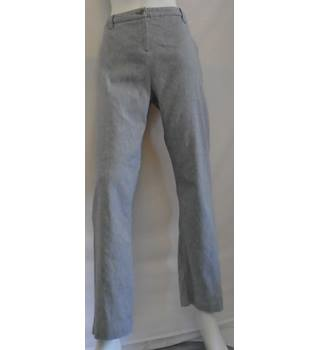 Per Una Trousers - Size: 14 - Grey