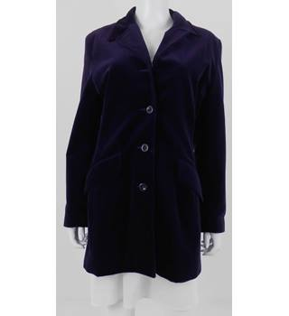 "Number One by Kappahl size 40"" chest purple coat"