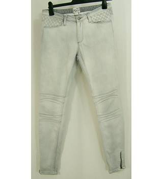 Reiss - Size: 8 - Pale Grey - Jeans