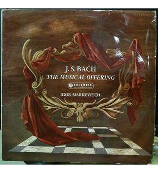 JS Bach The Musical Offering - Igor Markevitch - 33CX 1590