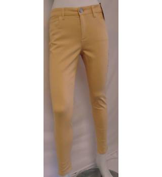 Marks & Spencer Jeggings - Size: 10 - Pale Orange