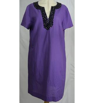 Jaeger - Size: 12 - Purple - Dress