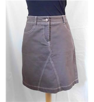 Boden - Size: 10 - Brown - Mini skirt