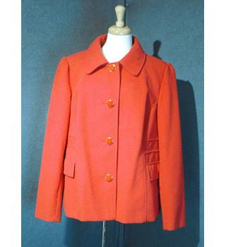 M&S Marks & Spencer - Size: 24 - Red - Smart jacket / coat