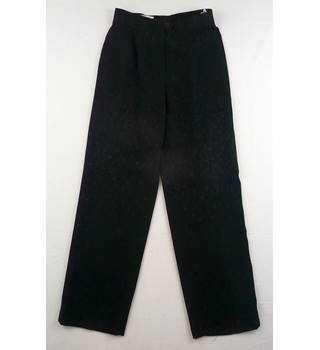 "Gerry Weber - Size: 26"" - Shimmery Black -  Dressy Trousers"