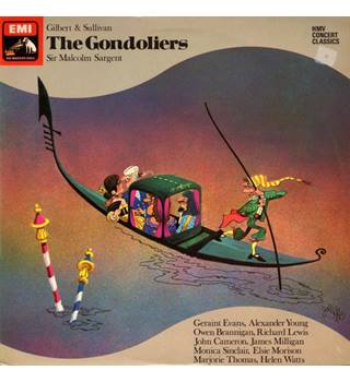 Gilbert and Sullivan The Gondoliers SXDW 30027